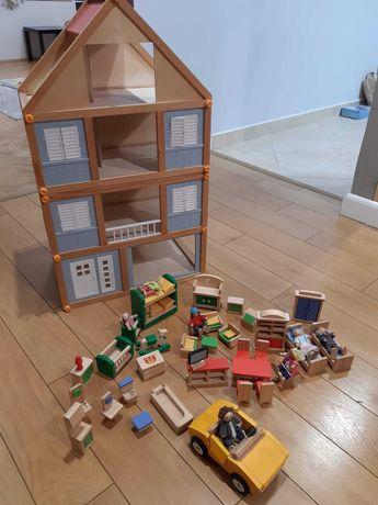 Domek drewniany zakupiony w Lidlu