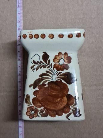 Włocławek, ceramika porcelana PRL dzbanek wazonik