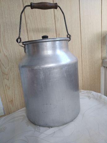 Бидон молочный алюминиевый 8л