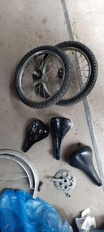 Koło Rowerowe 16x2.125 oraz inne części.
