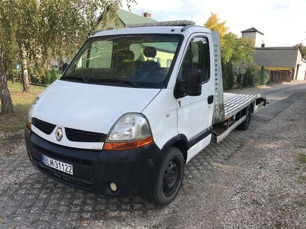 Renault Master 2.5 dci auto laweta holownik pomoc drogowa zamiana