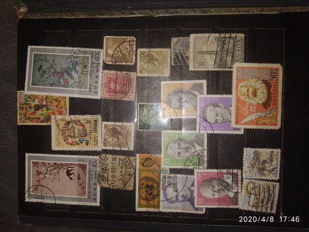 Продаю марки 1960-1980 року.