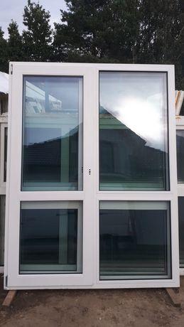 Drzwi okno używane TARASOWE z Niemec - 174x210 DOWÓZ PL