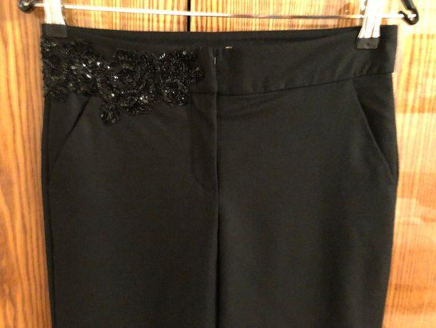 Штаны брюки шерсть AmuletiJ р.XS/S Zara Mango