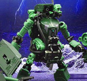 Rihio Сборная модель, Механический робот конструктор, lego, егерь.