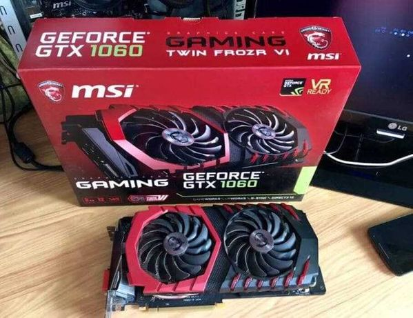 Продам видеокарту Msi Geforce Gtx 1060 Gaming X 3gb