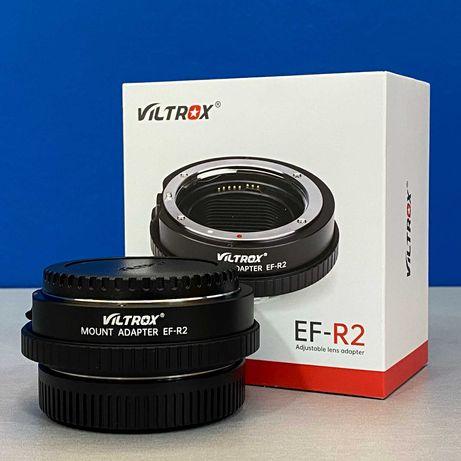 Adaptador de AF Viltrox EF-R2 (Canon EF - Canon RF) - NOVO