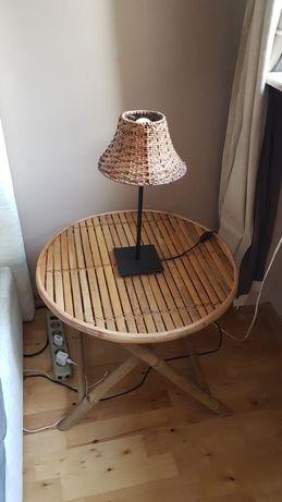 Super stoły bambusowe bardzo modne