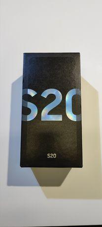 Samsung S20 Cloud Blue 128gb Praktycznie nowy Gwarancja