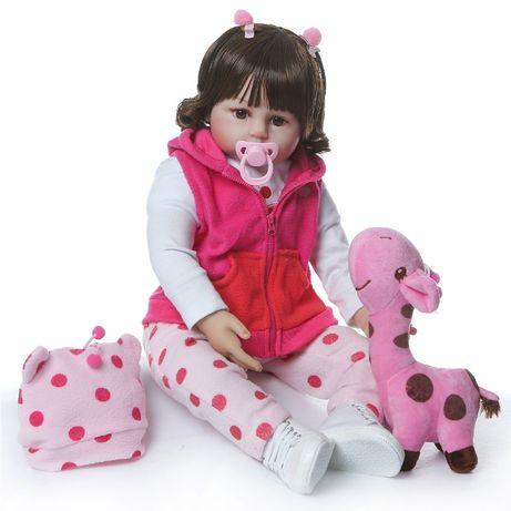 Reborn большая кукла Карина силиконовая