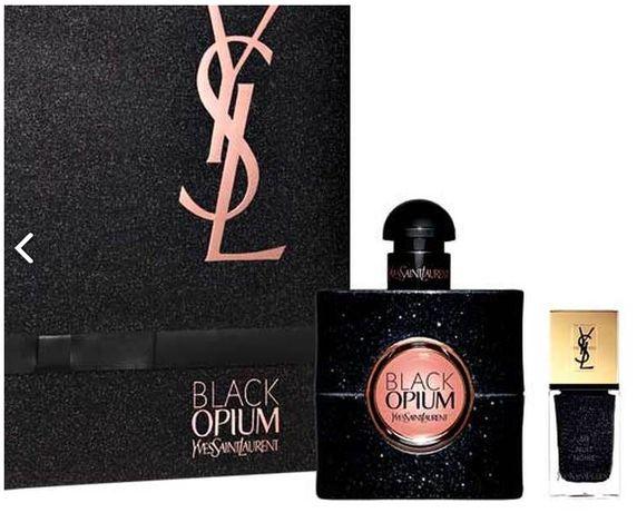 Подарочный Женский набор Yves Saint Laurent Black Opium (Духи Парфюм