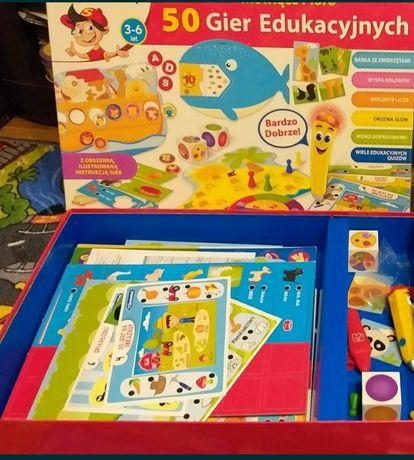 50 gier edukacyjnych 3-6 lat mówiące pióro