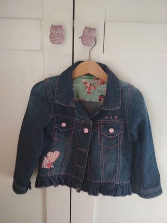 Kurtka jeansowa 3 latka, 104 cm