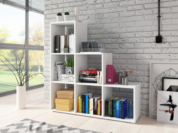 Półka na książki, regał schodkowy, pod skos 105cm