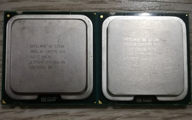 Процессор Pentium E7500