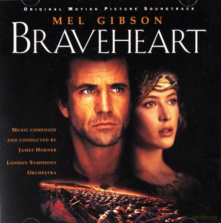 Braveheart soundtrack (James Horner/London Symphony Orchestra) [CD]