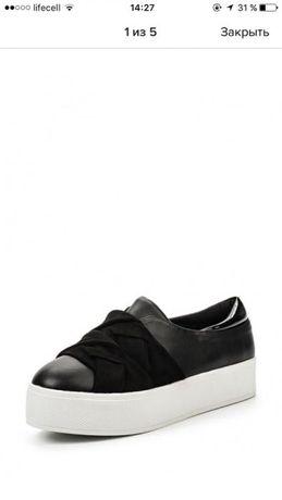 Продам новые слипоны/кеды/туфли на платформе