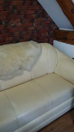 Kanapa/sofa 3-osobowa ecru