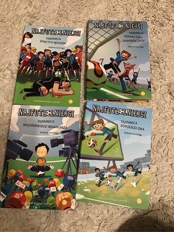 Najfutbolniejsi 4 książki Roberto Santiago