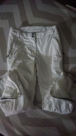 Head spodnie narciarskie białe/ecru damskie rozmiar L