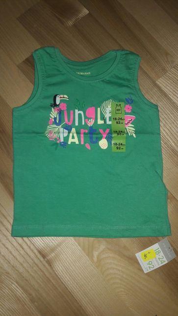 Майка футболка для девочки мальчика ирландской фирмы Primark 9-24 м.