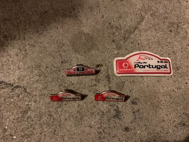 Pin's rally portugal