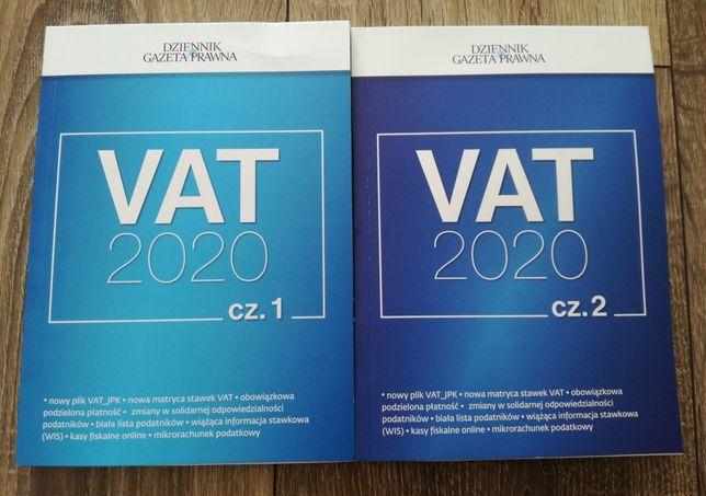 VAT 2020 ,cz.1 i cz.2