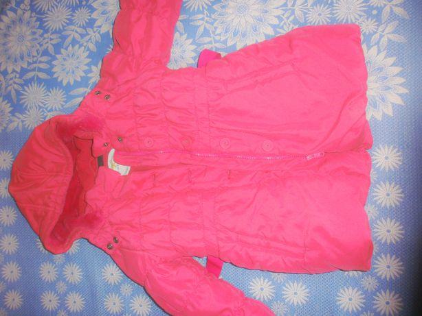 Куртка пальто на девочку 3 года -зима -150 гр