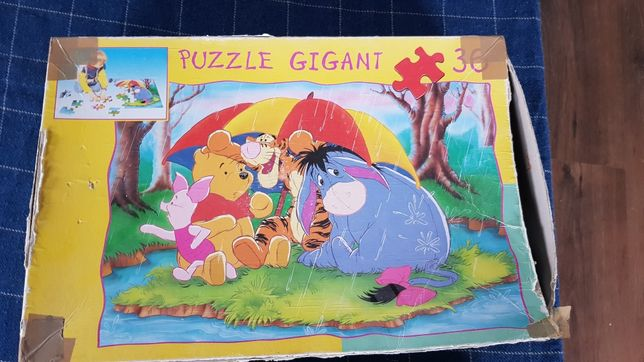 Puzzle gigant 2 obrazki