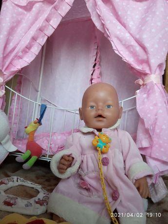 Кровать для кукли Беби Борн