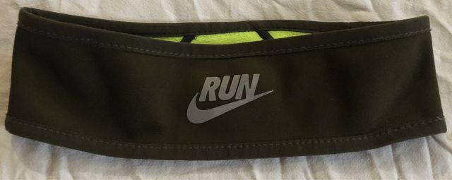 Opaska Nike do biegania khaki zielona