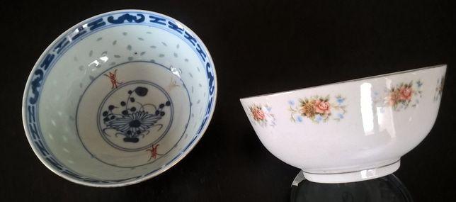 Tijelas antigas em porcelana