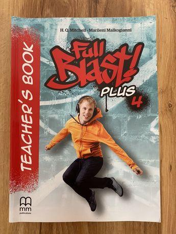książka nauczyciela teacher's book full blast plus 4 poziom b1
