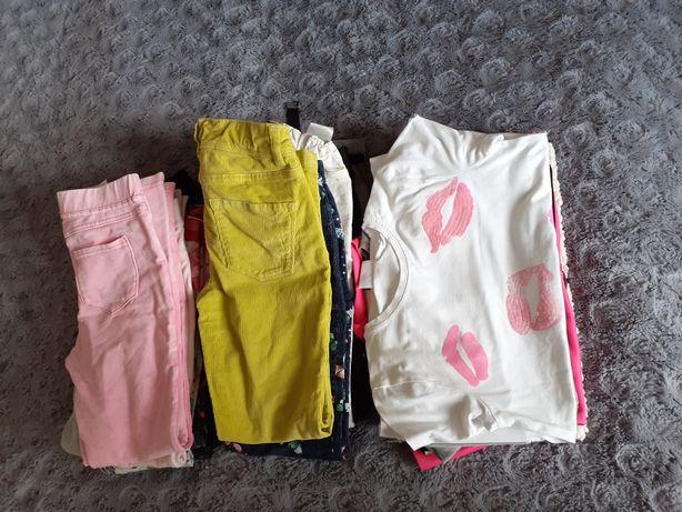 Zestaw ubrań dla dziewczynki r 134/140
