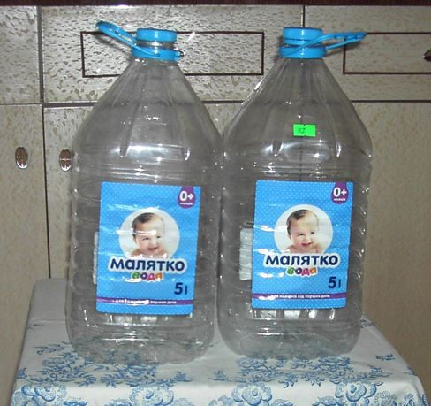 Бутылки 5 литров, бутыль, пластиковые бутылки 5 литров с крышками