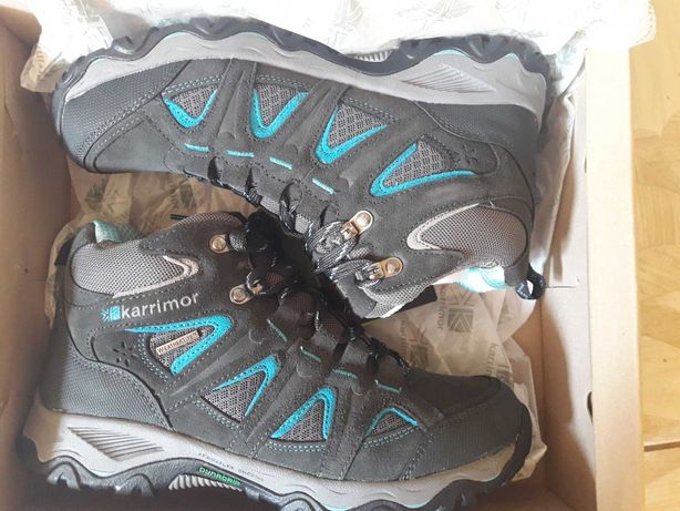 Черевики Karrimor Mountain Mid Ladies Grey. Нові.
