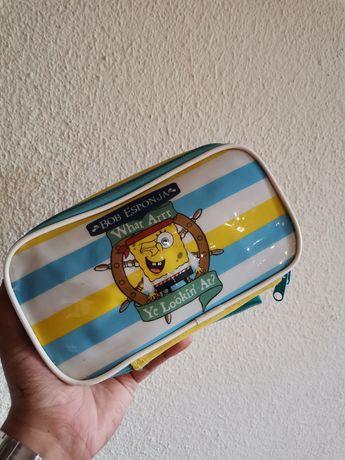 Estojos do spongebob