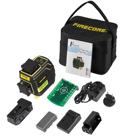 Лазерный уровень Firecore F94T-XG с магнитным кронштейном