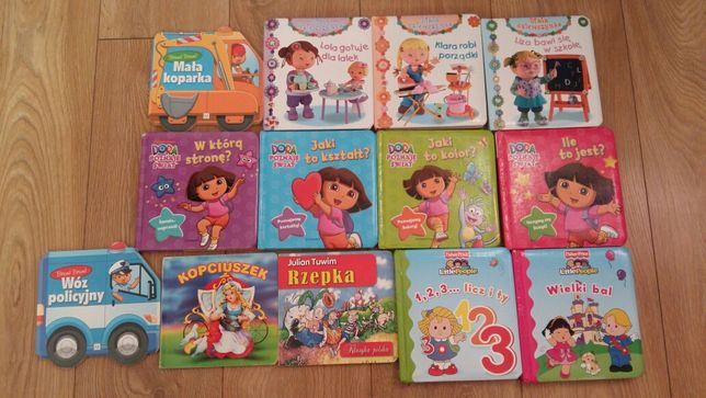 Książeczki dla dzieci 13 szt