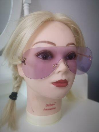 Różowe okulary NOWE