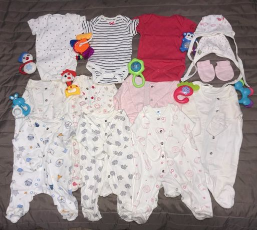 Пакет вещей для новорожденного (0-3 месяца)