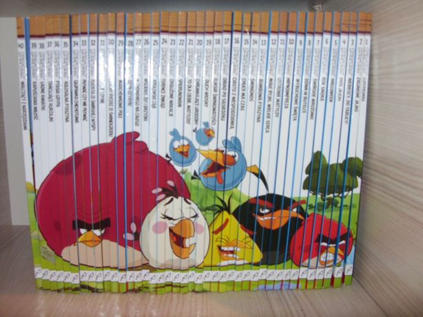 Mega Zestaw Książek Angry Birds, 40 części