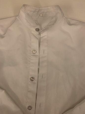 Koszula biała rozmiar 134-140