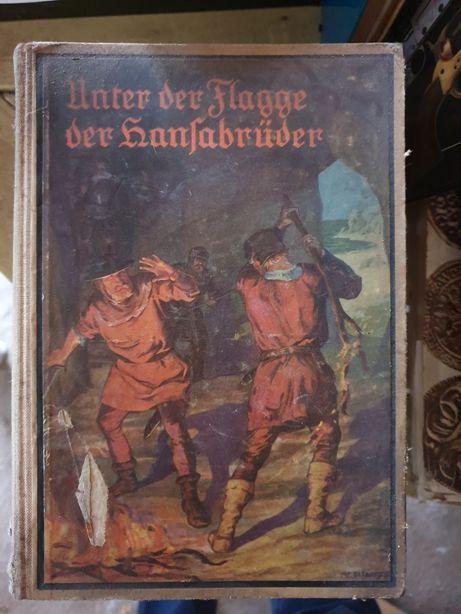 Stare książki w języku niemieckim ż okresu wojennego i przedwojennego