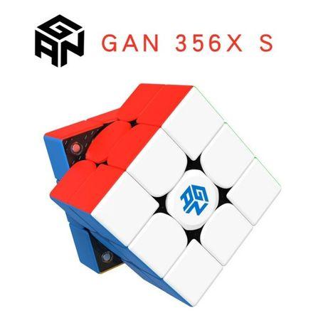 [+ ПОДАРОК] Gan 356 XS, кубик Рубика 3 на 3, скоростной, магнитный