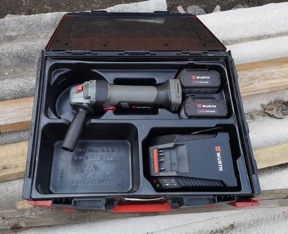 Акумуляторна болгарка Wurth EWS 18-A 125mm Bosch GWS 18-125 V-LI