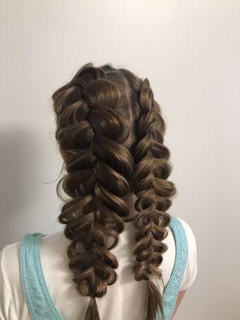 Плетение ажурных кос, прически Киев Оболонь Минская