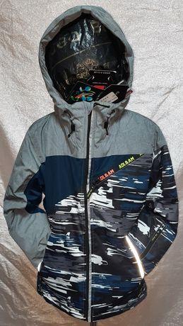 Новая подростковая  термо куртка для мальчика  р. 140 - 164 . Зима