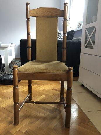 Stół dębowy + 10 krzesel