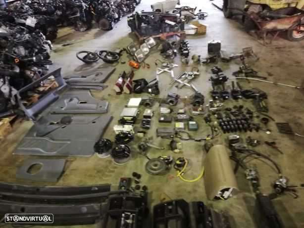 Land Rover Discovery 300- botões, centralinas, ignição, manetes